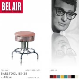 Bel Air kruk BS-28-48 rose