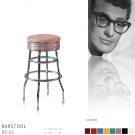 BS-29-77 Bel Air barstool - dusty rose