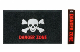 Dangerzone Skull deurmat