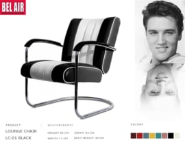 LC-01 Lounge Chair Black