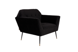 Kate Lounge Chair Black Dutchbone