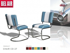 Bel Air Diner chair CO-27 blue