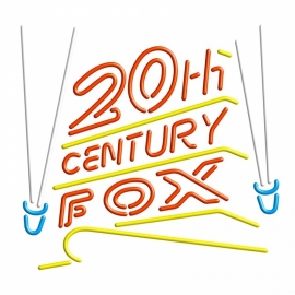 Neon retro sign - 20th CENTURY FOX