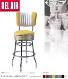 Bel Air BS-29-CB 66 Fifties kruk Geel