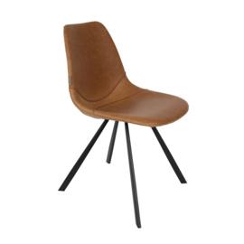 Dutchbone Franky chair bruin