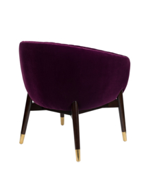 Dolly Lounge Chair Dutchbone Purple