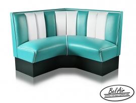 Bel Air diner corner HW 120 Turquoise