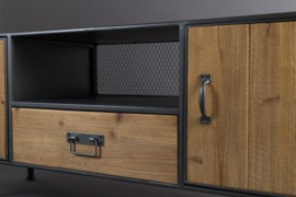 Gin sideboard low industrieel