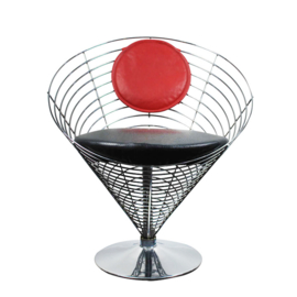Cone wire chair