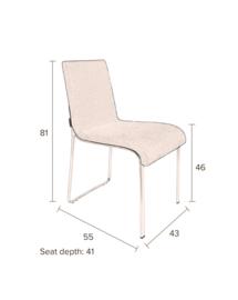 Flor Chair Zwart Dutchbone