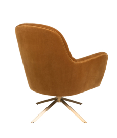 Robusto Lounge Chair Dutchbone Whiskey