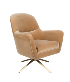 Robusto Lounge Chair Dutchbone Caramel