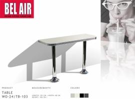 WO-24/TB-103 Bel Air 50's Bar- muurtafel - AW