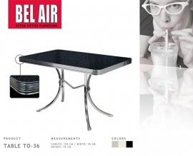 Bel Air 50ies eettafel TO 36