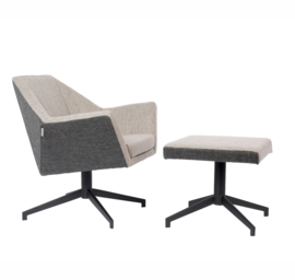 Lounge Fauteuil Uncle Jesse Zuiver