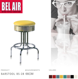 Bel Air BS-28 Barkruk Geel