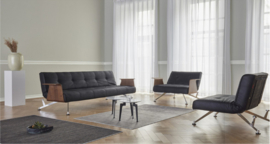 Clubber sofa - LT - Fanual black - Innovation Living 2020