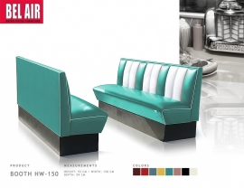 Diner booth HW-150 - turqoise