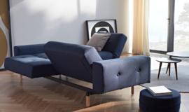 Ample sofa met armleuningen 2021