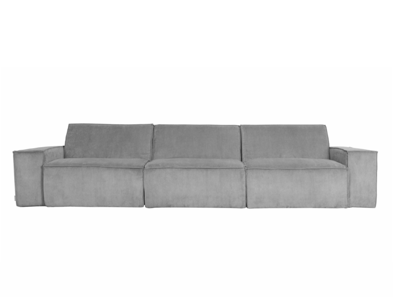 James lounge bank Zuiver Cool Grey