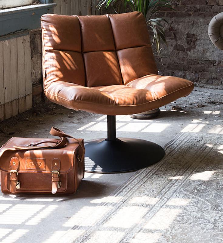 Ongebruikt Interieur Lounge Fauteuil BAR Design Stoel Dutchbone NS-17