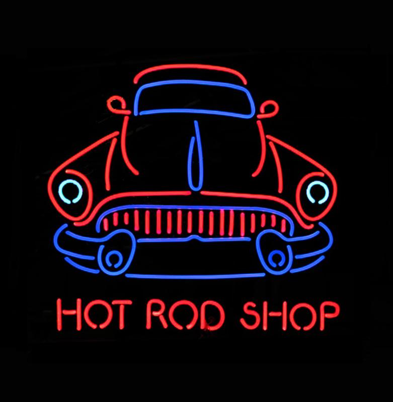 Hot Rod Shop Neon NHRS