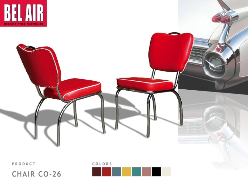 Vintage Chair CO-26 red