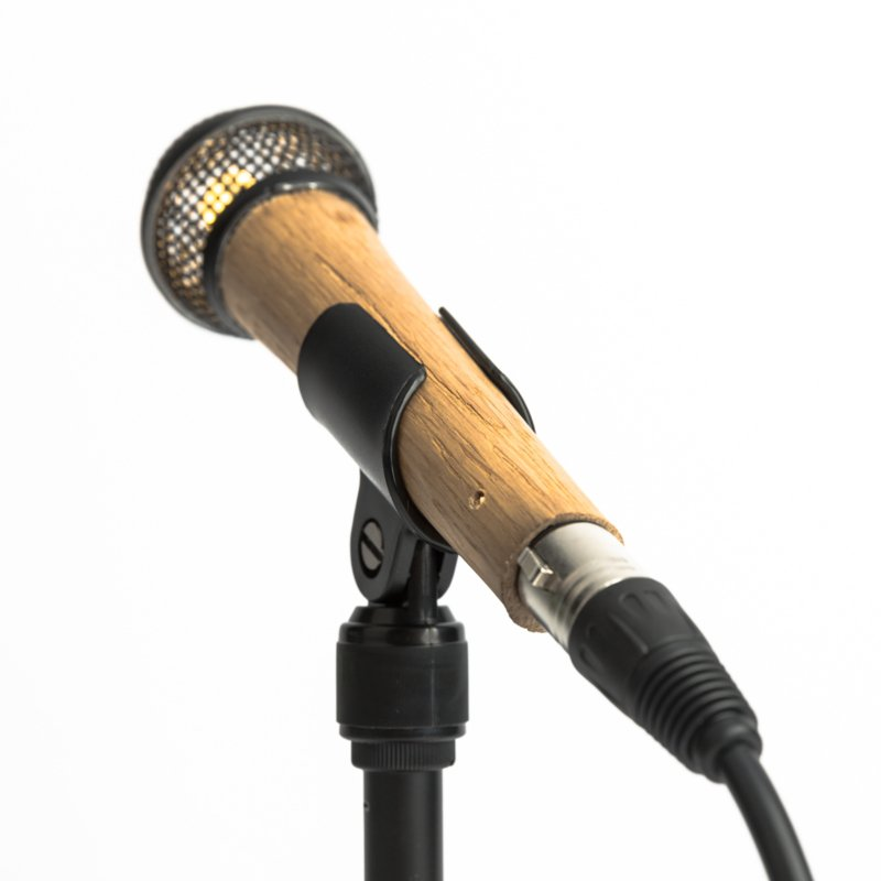 Microphone Tafellamp Shure SM58 Wooden Black
