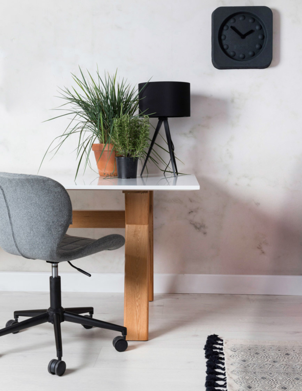 OMG Bureaustoel Verstelbaar Grijs