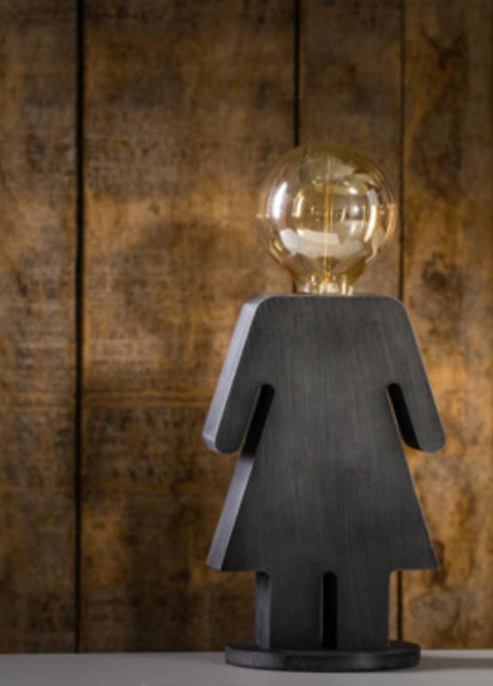Tafellamp Eva Grey