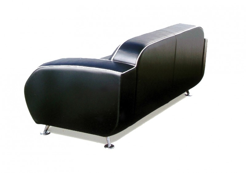 Retro furniture 50ies Diner zitbank SF-02CB G63