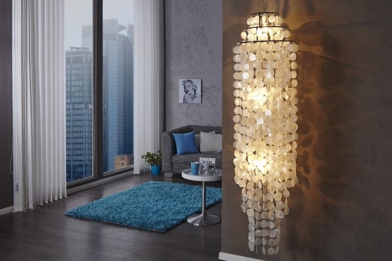 Schelpenlamp - shell lamp XL