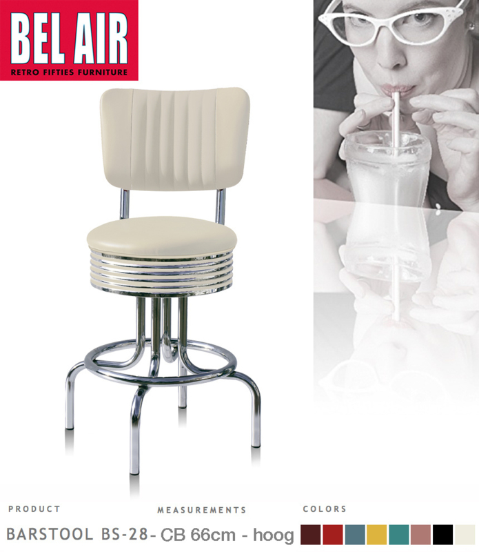 Bel Air BS-28-CB66 Kruk Wit