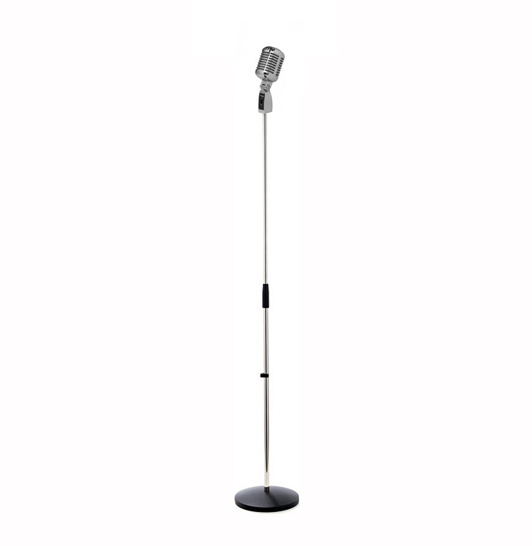 Stagg Microphone Retro Vloerlamp
