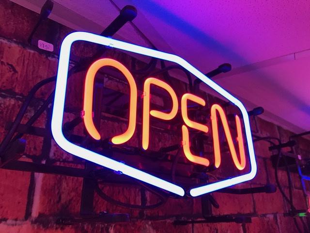 Neon Sign - OPEN
