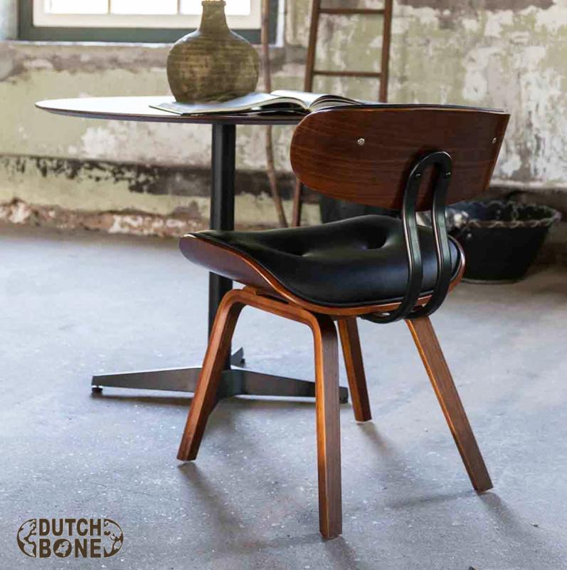 Blackwood walnoot Dutchbone stoel