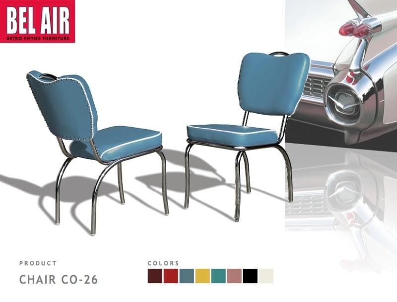 Vintage Chair CO-26 blue