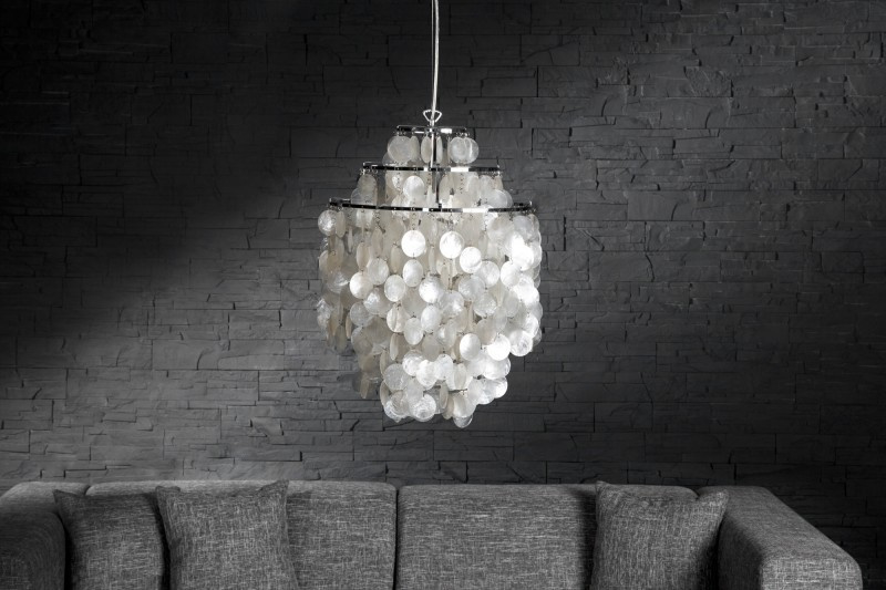 Schelpen hanglamp