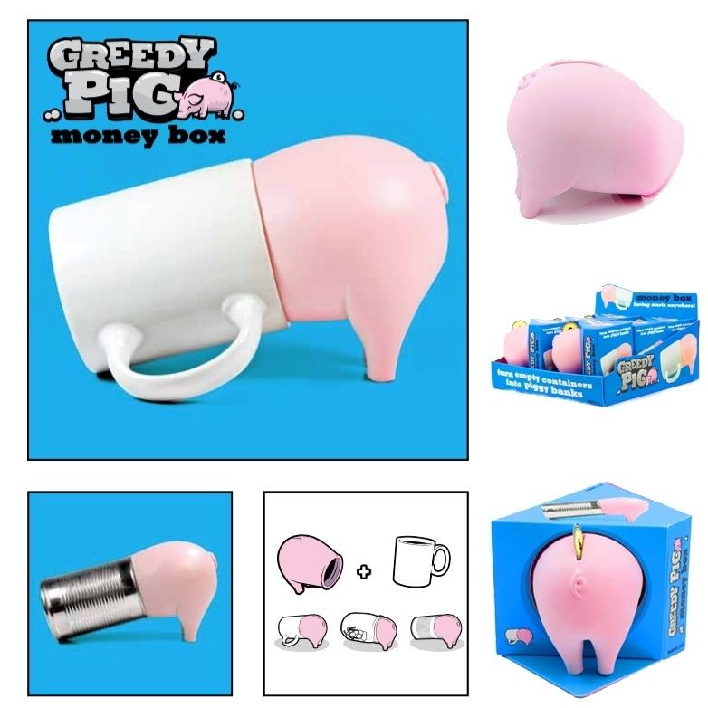SuckUK - Greedy Pig - Spaarvarken