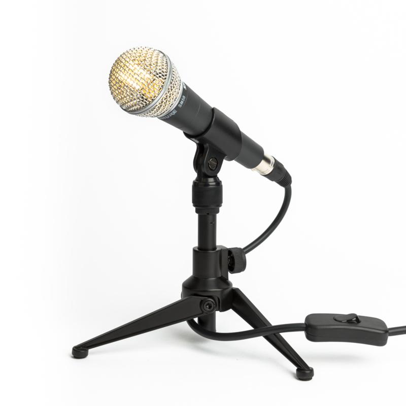 Microphone Tafellamp Shure SM58 Black