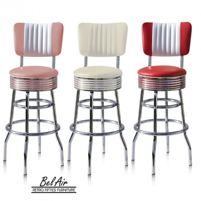 Retro Barstool Bel Air BS-29-CB