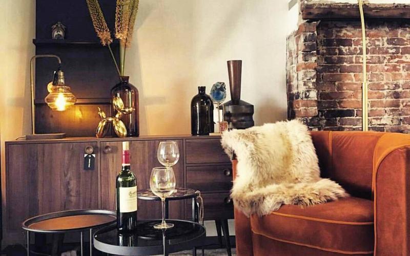 Dutchbone Flower lounge chair