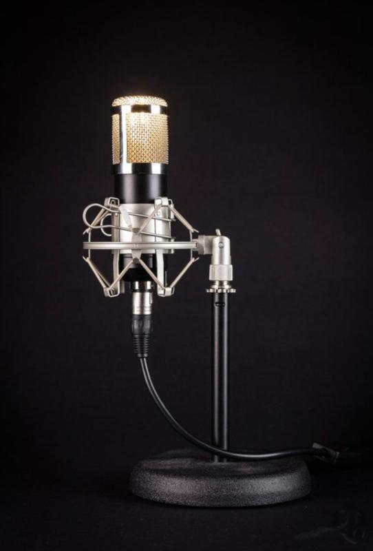 Studio Microphone Tafellamp