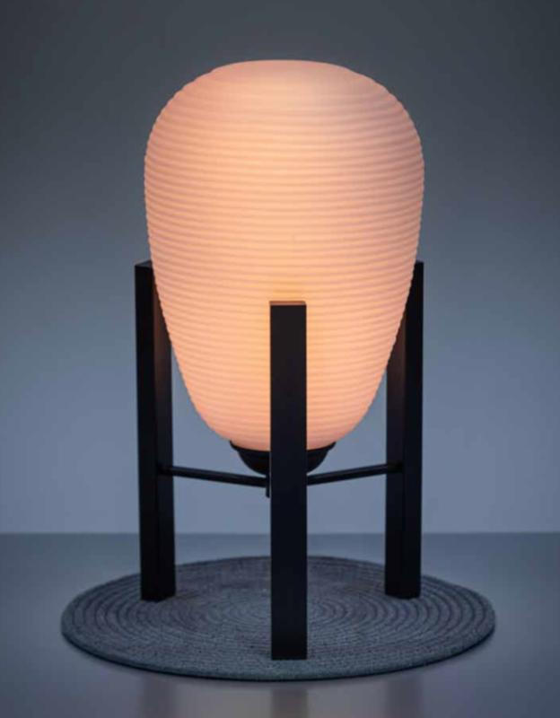 Carl Wide Tafellamp opaal glas