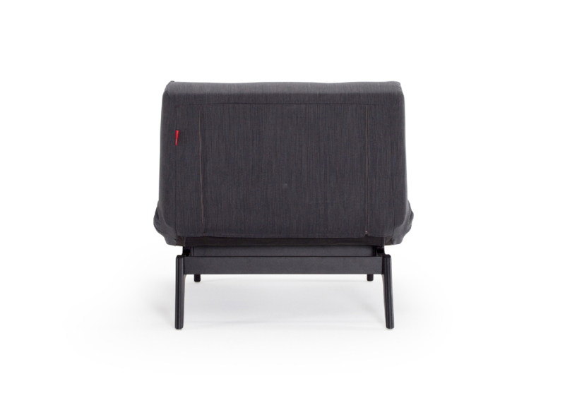 Splitback Eik Chair Black