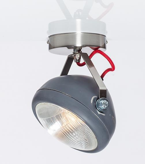 No.7 wand-plafond koplamp rood