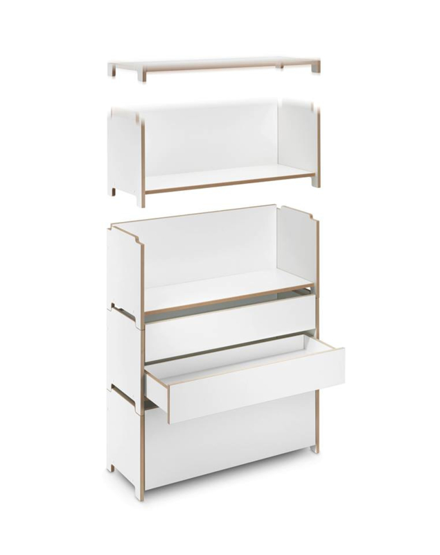 Harry Shelf open module GE402-11, 33,5 diep