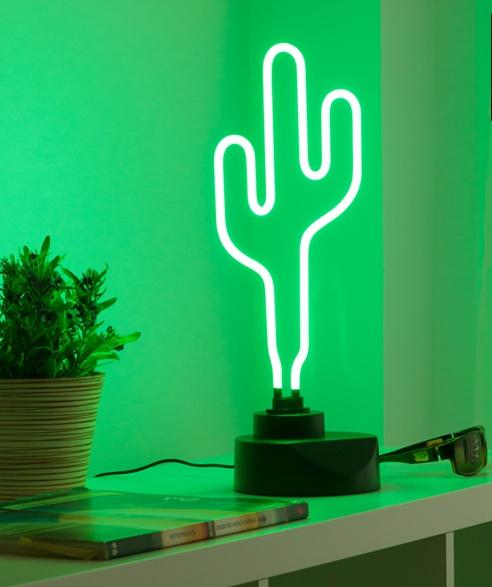 Cactus Neonlamp