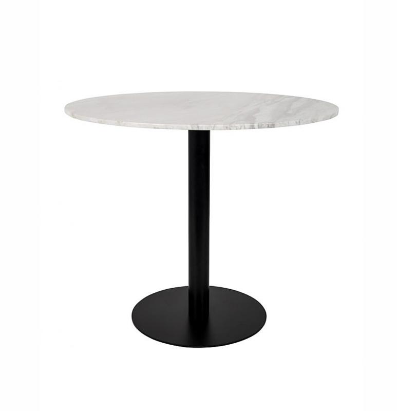 Marmer Tafelblad Rond.Rond Marmer Eettafel Zuiver Marble King 90 Cm Tafelblad