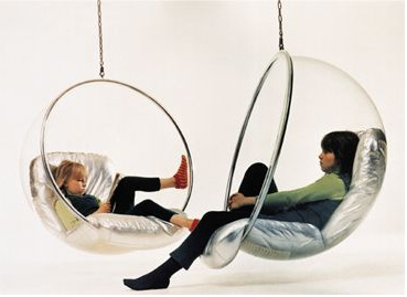 Bubble cocoon swing chair